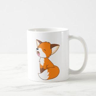 Cute Sleepy Little Fox Coffee Mug