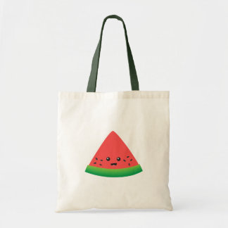 Cute Slice of Watermelon Budget Tote Bag