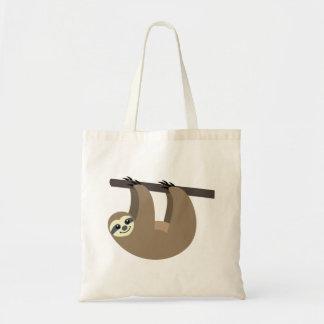 Cute Sloth Cartoon Tote Bag