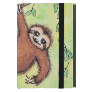Cute Sloth Cover For iPad Mini
