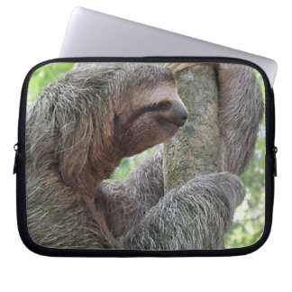 Cute Sloth Laptop Sleeve