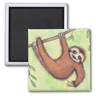 Cute Sloth Magnet