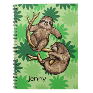 Cute Sloth Notebook