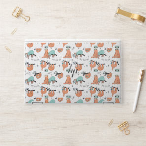 Cute Sloth Pattern HP Laptop Skin
