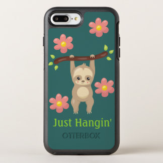 Cute Sloth Phone Case - Just Hangin'