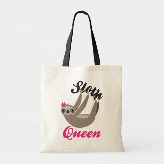 Cute Sloth Queen Totes Bag
