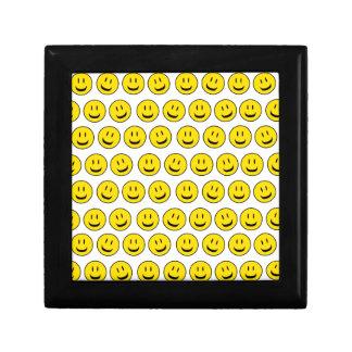 cute smile small square gift box