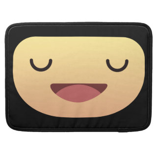 Cute Smiley face Sleeve For MacBook Pro