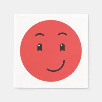 Cute Smiley paper napkins 1/9