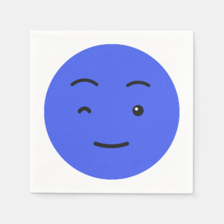 Cute Smiley paper napkins 3/9