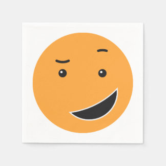 Cute Smiley paper napkins 9/9
