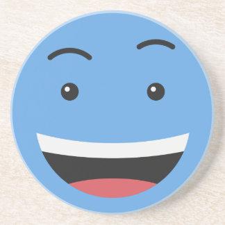 Cute Smiley sandstone coaster