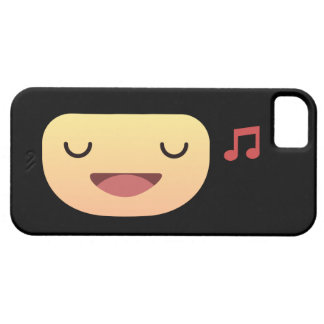 Cute Smiley singing iPhone 5 Cases