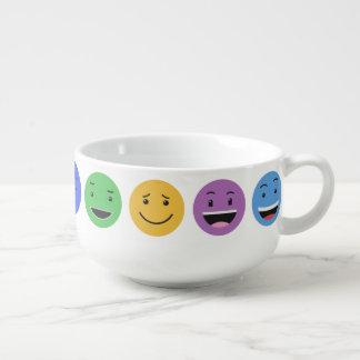 Cute Smileys soup bowl