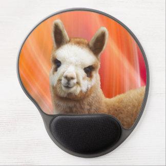 Cute Smiling Alpaca Gel Mousepads Gel Mouse Mat