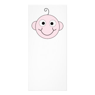 Cute Smiling Baby. Personalized Rack Card