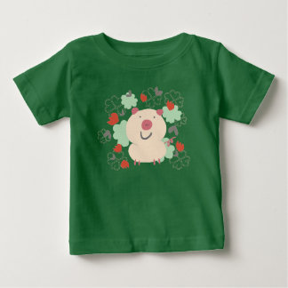 Cute Smiling Little Pig baby T-shirt