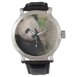 Cute Smiling Panda Wristwatch
