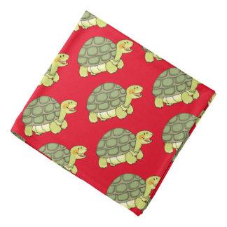 cute smiling tortoise/turtle bandana