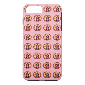 Cute Smiling Witch Owl Black Cat iPhone 8 Plus/7 Plus Case