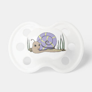 Cute snail baby pacifiers