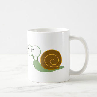 Cute Snail` Coffee Mug
