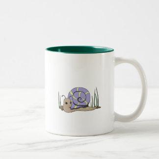 Cute snail coffee mugs
