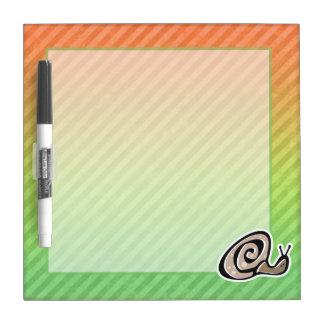 Cute Snail Design Dry-Erase Boards