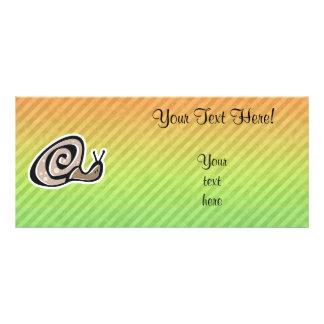 Cute Snail Design Full Color Rack Card