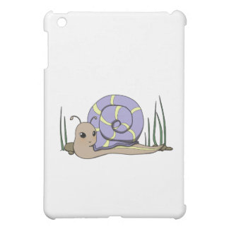 Cute snail iPad mini cover