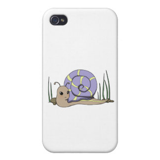 Cute snail iPhone 4/4S case