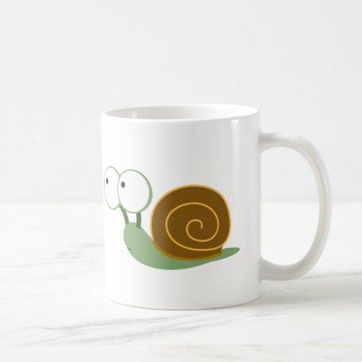 Cute Snail` Mugs