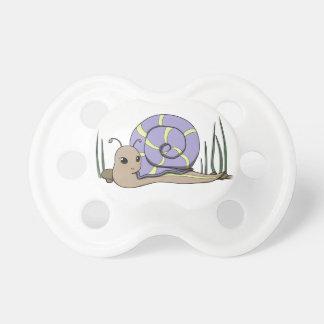 Cute snail pacifiers