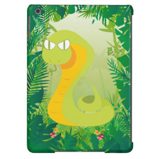 Cute Snake Cover For iPad Air