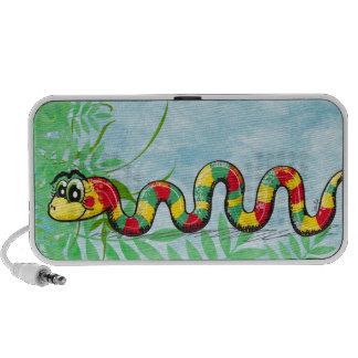 Cute Snake doodle speaker