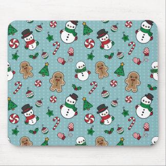Cute Snow Pals mousepad