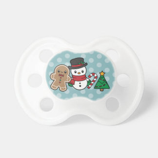 Cute Snow Pals pacifier