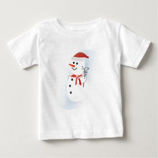 Cute Snowman Baby T-Shirt