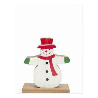 cute snowman Christmas gift Postcard