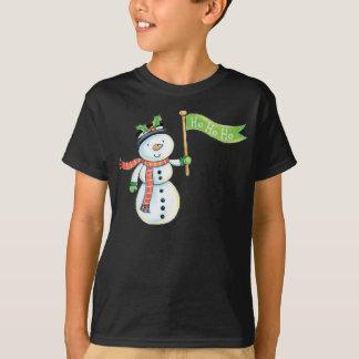 Cute Snowman Christmas Shirt