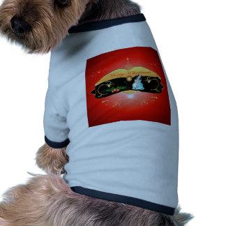 Cute snowman doggie t-shirt