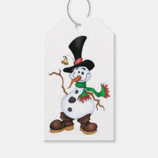 Cute Snowman Gift Tags