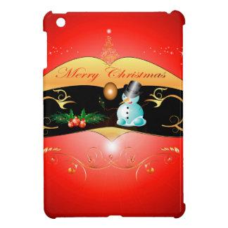 Cute snowman iPad mini covers