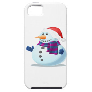 Cute Snowman iPhone 5 Covers