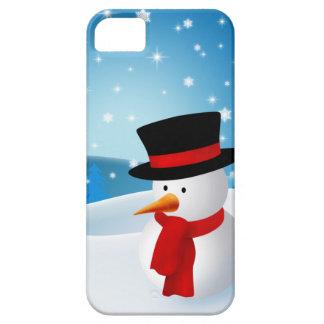 Cute Snowman iPhone 5 Covers