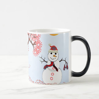 Cute Snowman Magic Mug
