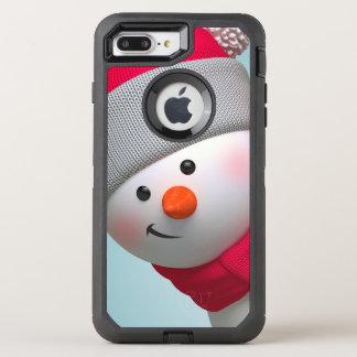 Cute Snowman OtterBox Defender iPhone 8 Plus/7 Plus Case