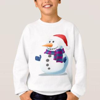 Cute Snowman Sweatshirt