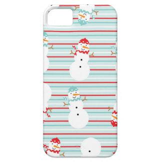 Cute Snowman Winter Design iPhone 5 Case