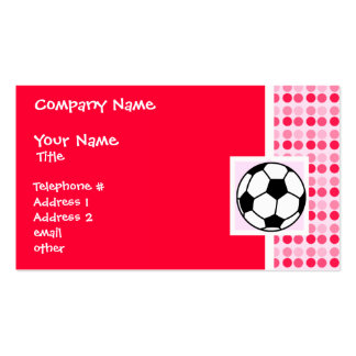 Cute Soccer Ball Pack Of Standard Business Cards